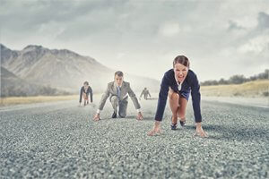business-people-running-race