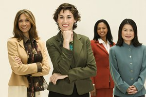 group-of-businesswomen